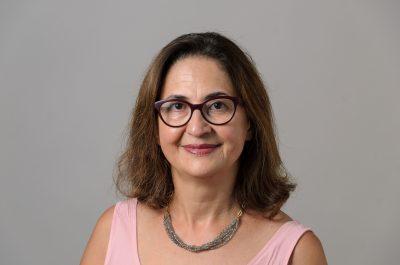 Aida Ghiaei '02 (CLAS) on Sept. 6, 2018. (Peter Morenus/UConn Photo)
